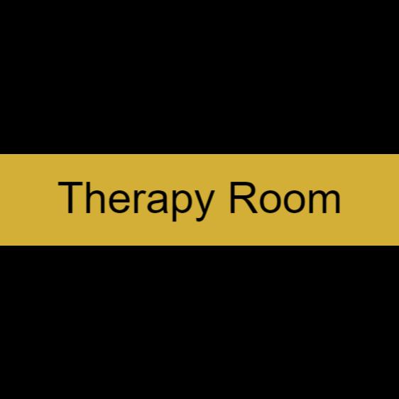 Door sign - therapy room