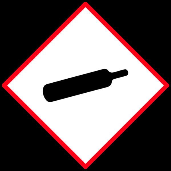 Gas under pressure