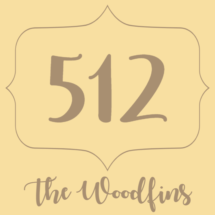 Wooden door number sign
