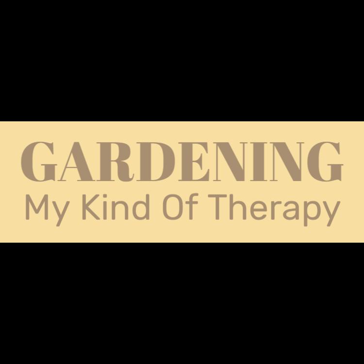 Trädgårds - Min typ av terapi