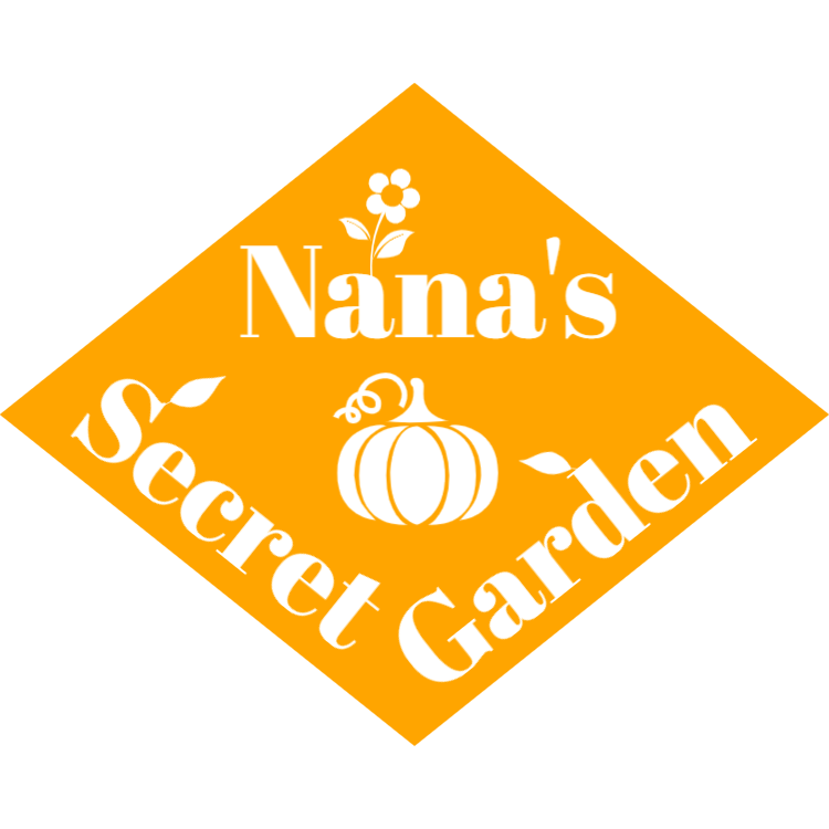 Nana's secret garden sign