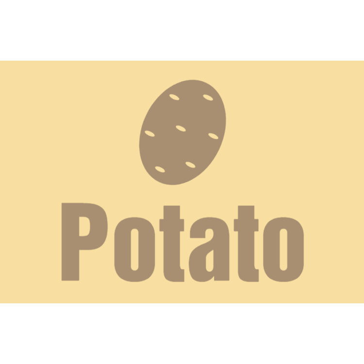 Potato sign