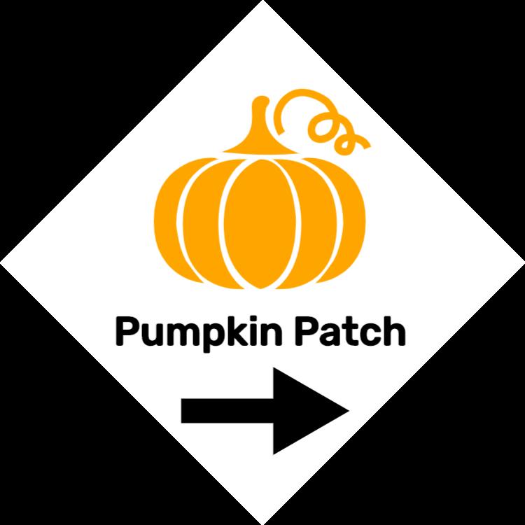 Pumpkin Patch tecken