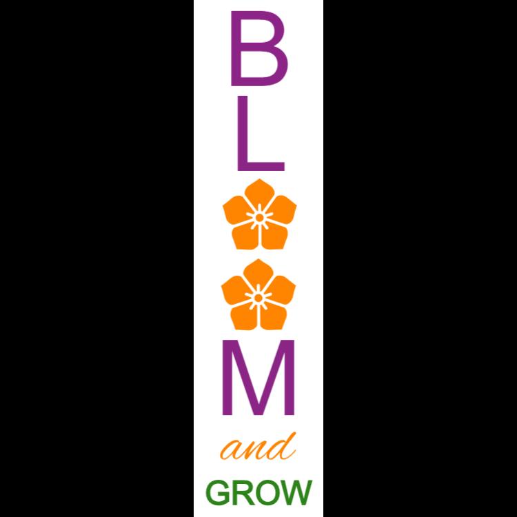 Bloom och växa tecken