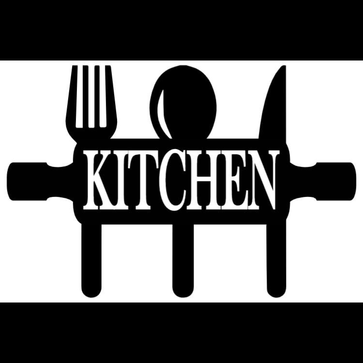 Black and white kitchen sign 1