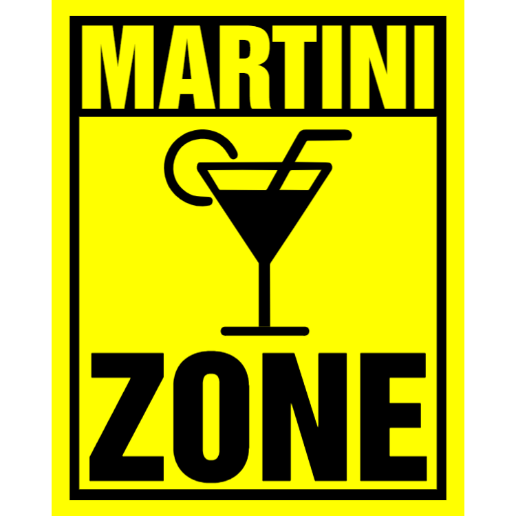 Martini zon tecken