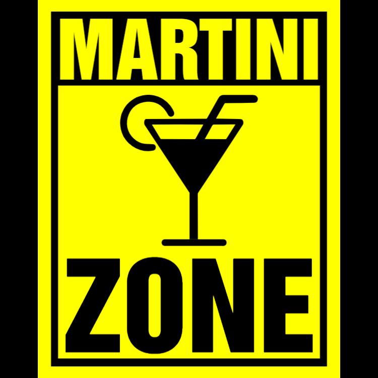 Martini zone sign