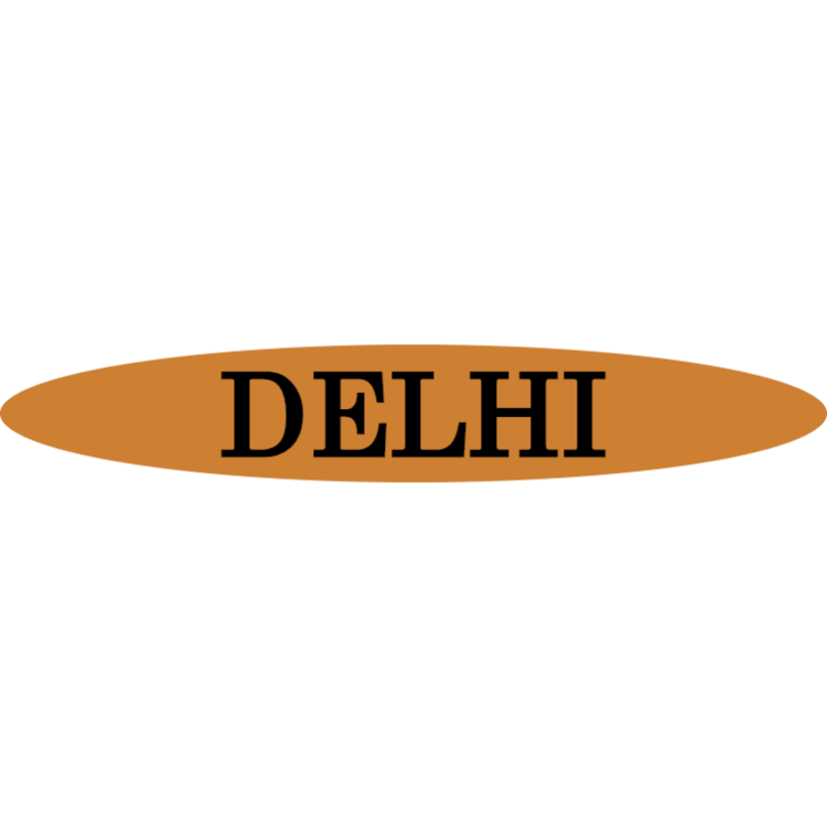 Delhi - gold sign