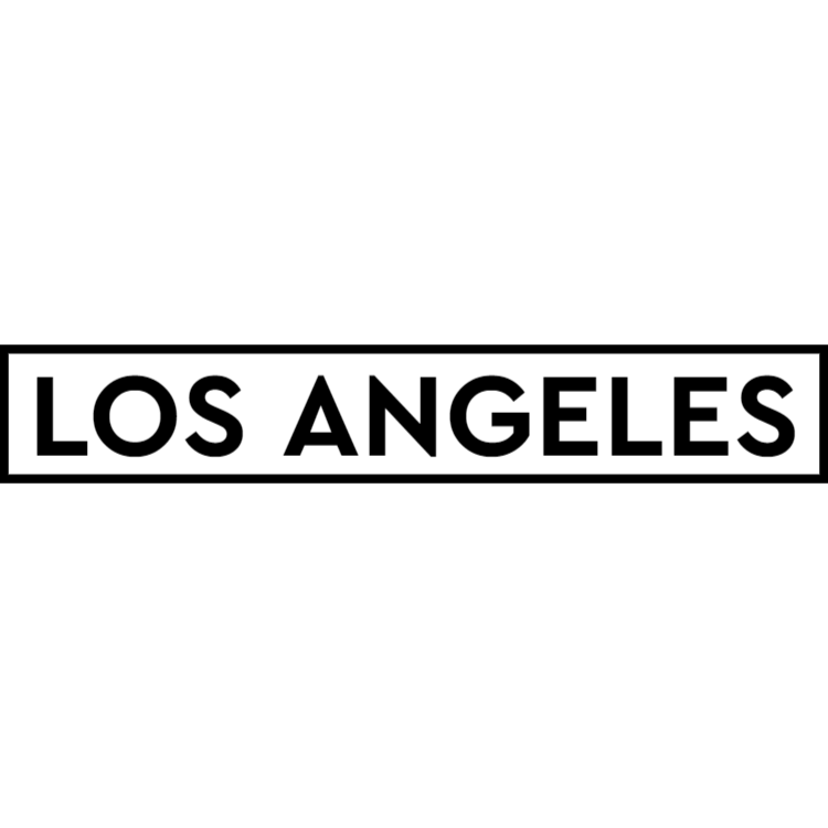 Los Angeles - white sign