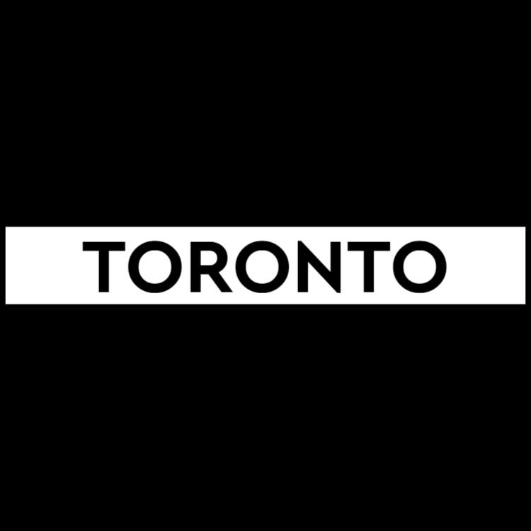 Toronto - white sign