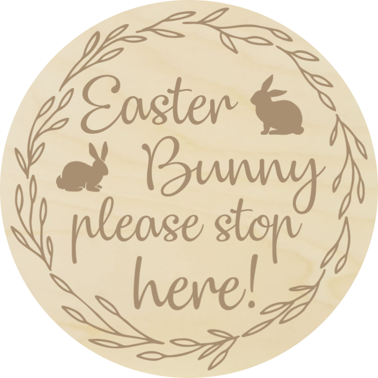 Easter Bunny, please stop here