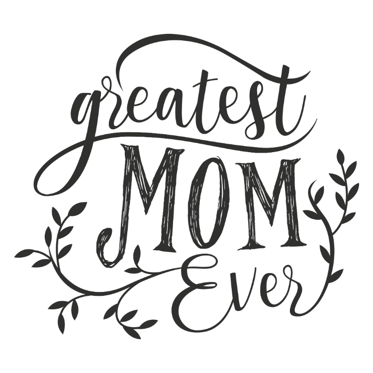 Greatest mom ever - sticker