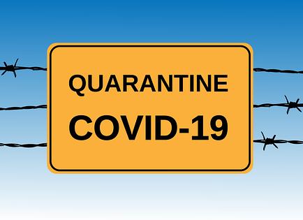 Coronavirus (COVID-19) - Quarantine Signs