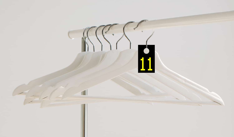 Cloakroom tags