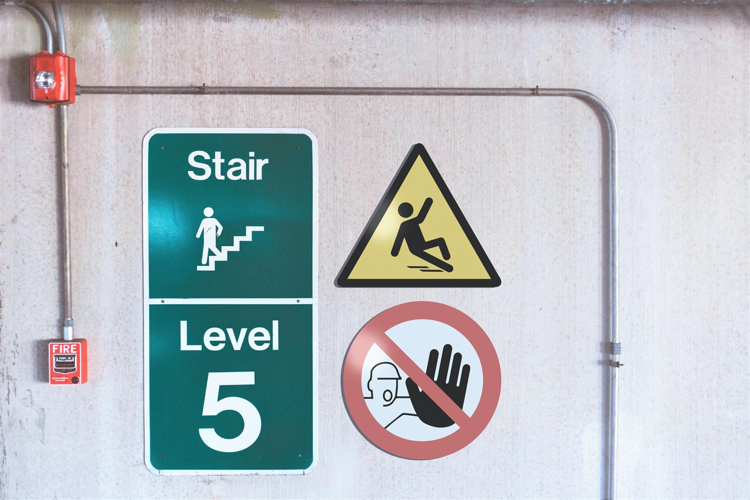 All safety signs