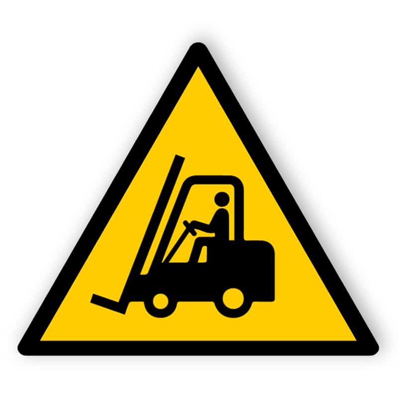 Warning Sign - Forklift