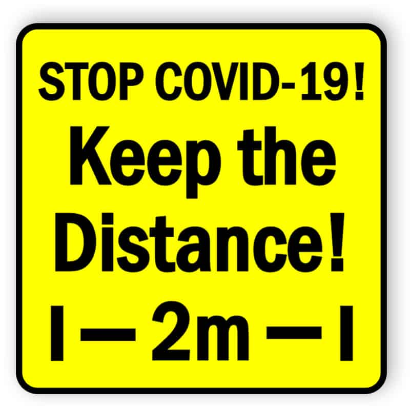 Stop covid19 - Keep the distance