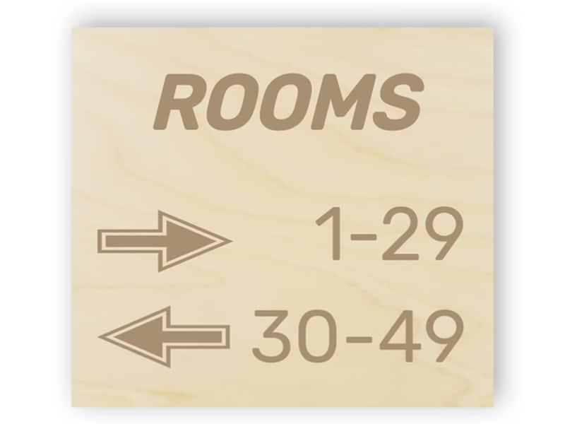 Door numbers - directions