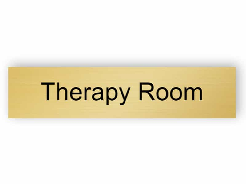Door sign - therapy room