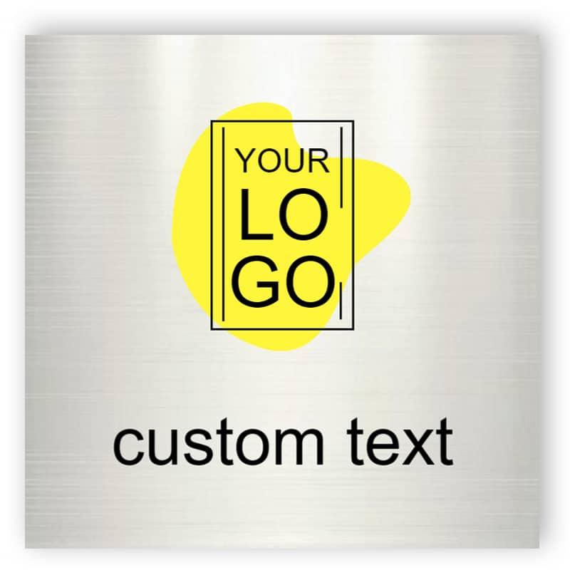 Aluminium custom sign