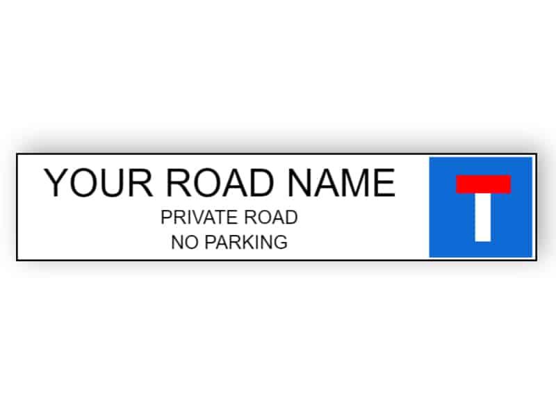 Private road - Aluminium composite panel