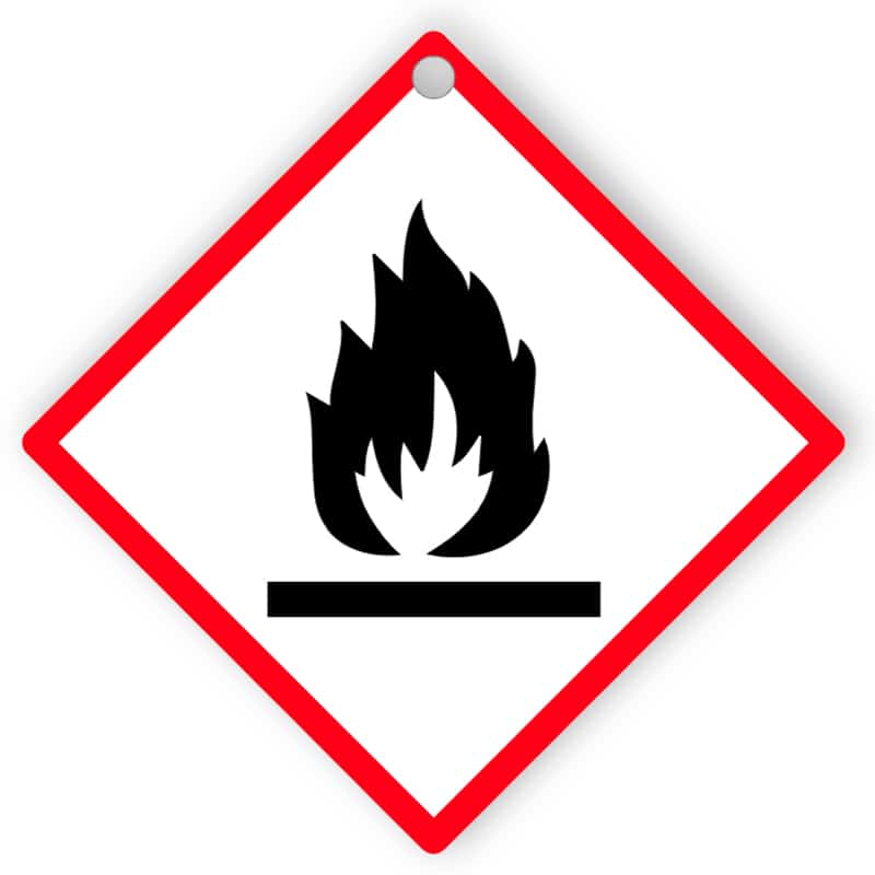 Hazard - Flammable - Aluminium composite panel