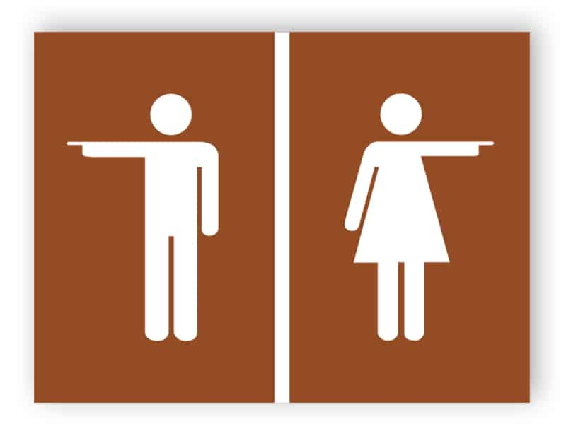 Toilet door sign 4