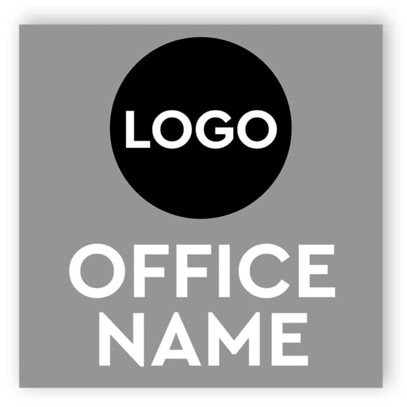 Custom office sign